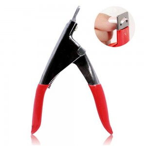 Red-manicure-stainless-steel-nail-clipper-Acrylic-UV-Gel-False-Nail-Clipper-Council-cutter-tools-NA23
