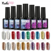 ROSALIND-Gel-1S-P-Black-Bottle-10ML-Diamond-Glitter-W01-29-Gel-Nail-Polish888